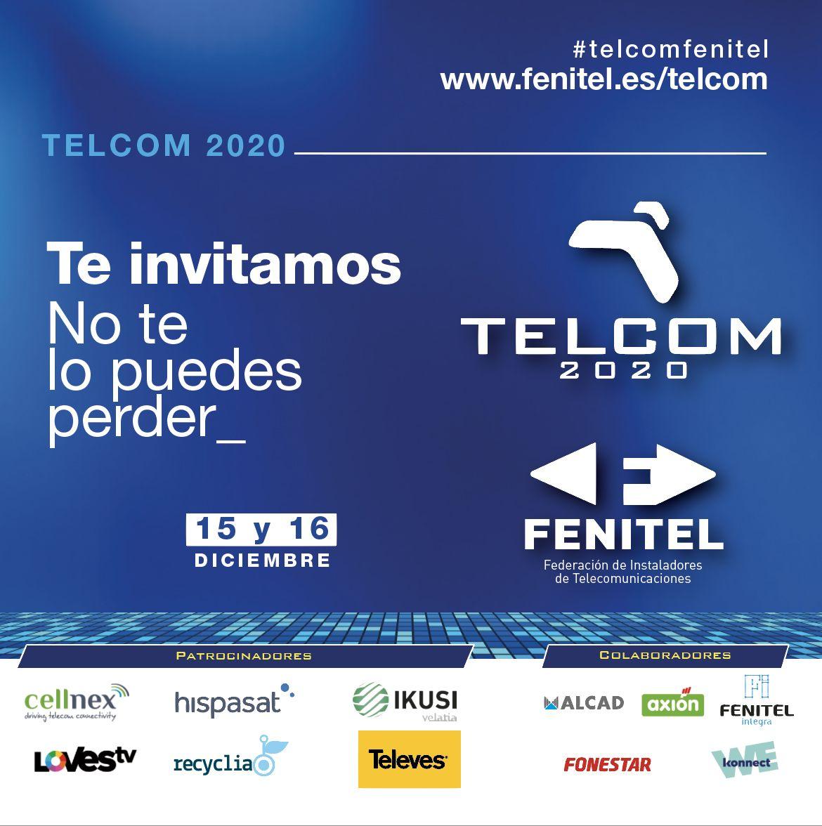 """El sector de las telecomunicaciones se reúne en Telcom2020: """"Juntos promovemos la Transformación Digital"""""""