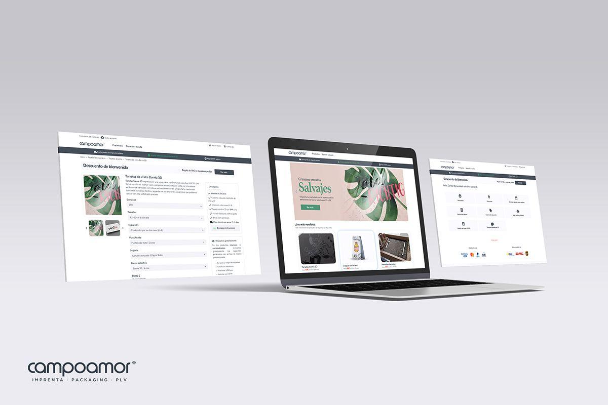 La imprenta online Campoamor refuerza su transformación digital