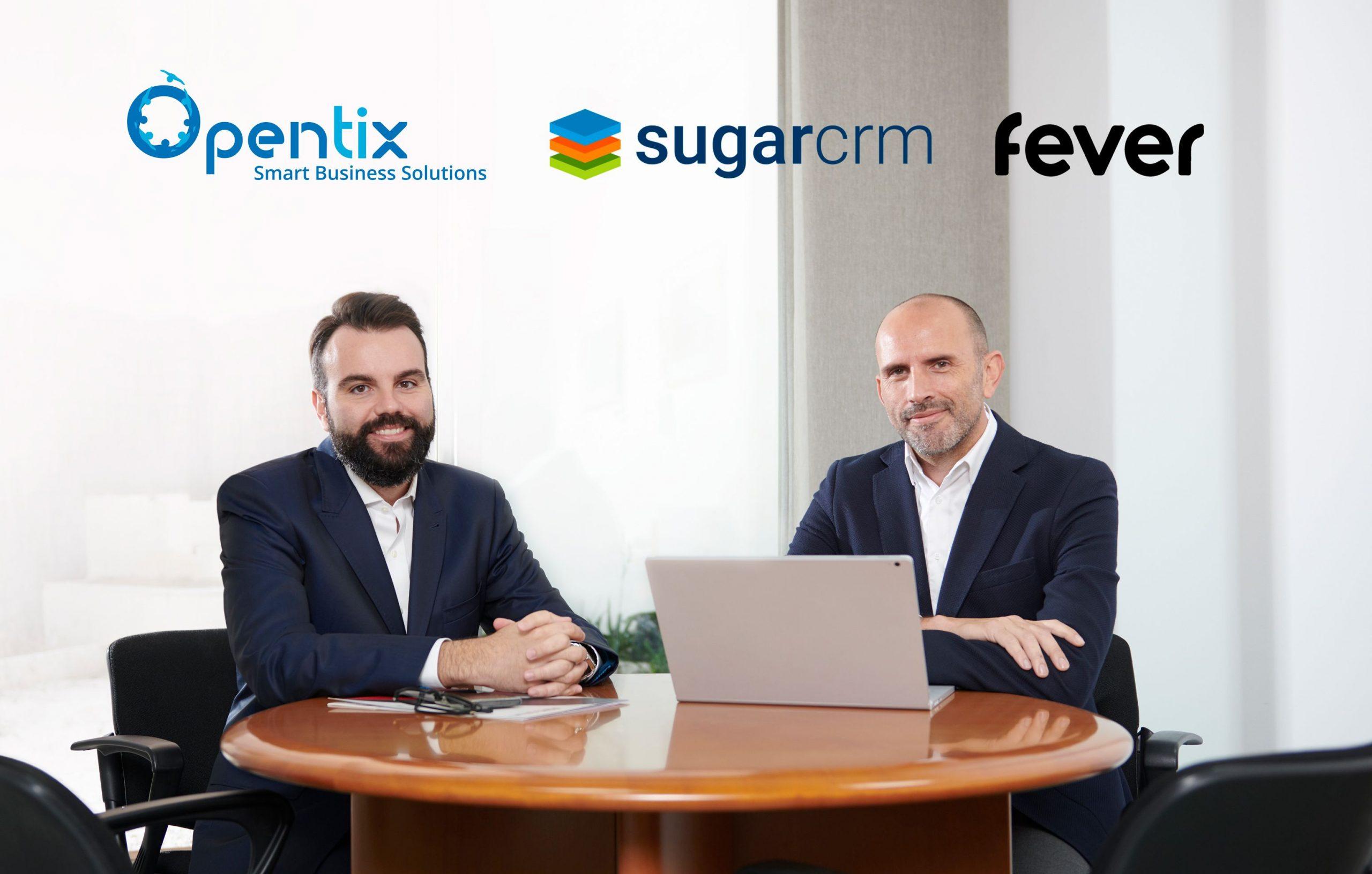 Opentix cierra el año a lo grande con el caso de éxito de Fever y SugarCRM