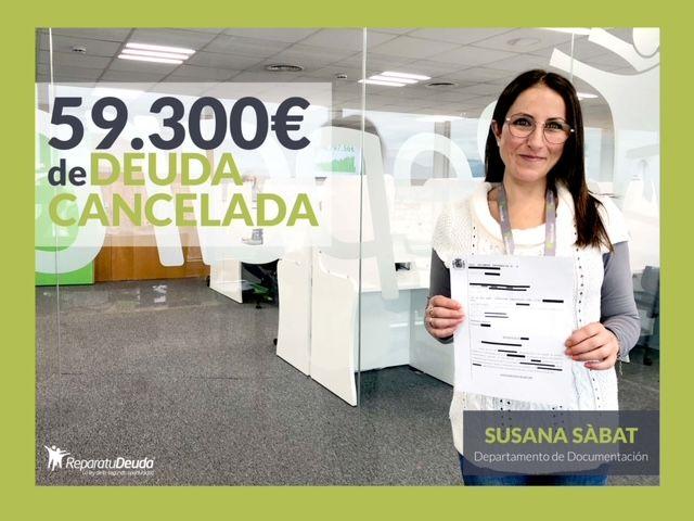 Repara tu Deuda Abogados cancela 59.300 € en Mallorca con la Ley de Segunda Oportunidad
