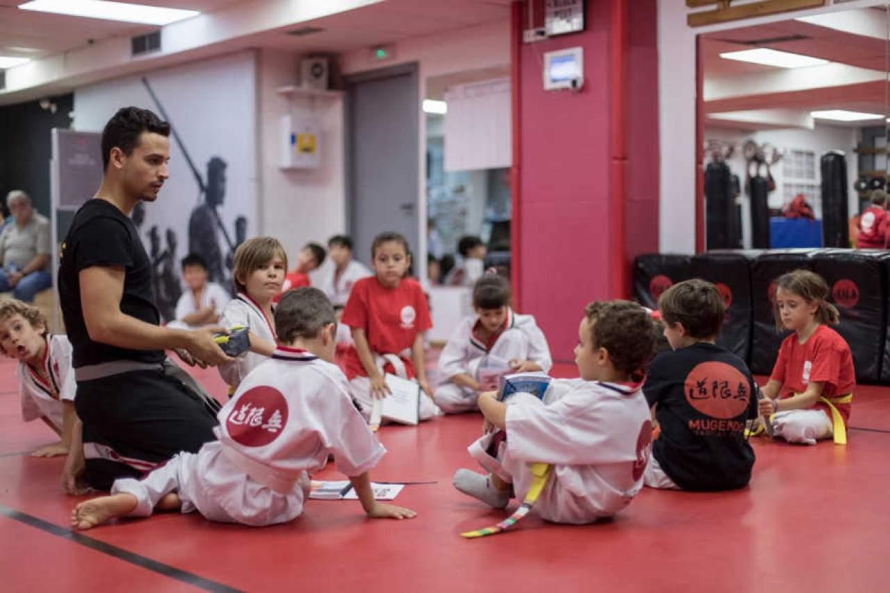 Artes marciales para niños Vallcarca