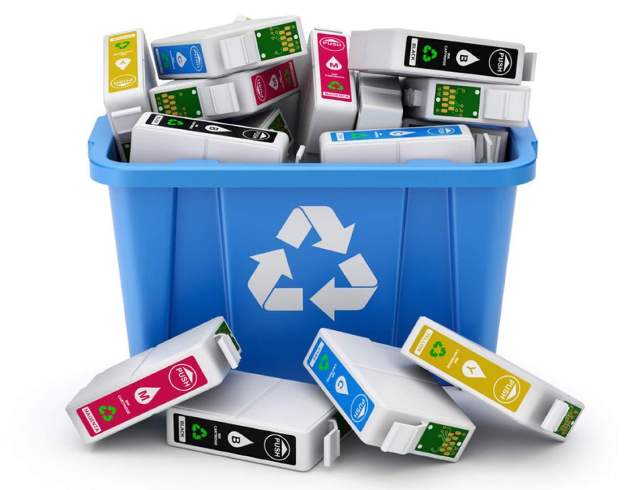 ¿Cómo reciclar  los cartuchos de tinta?