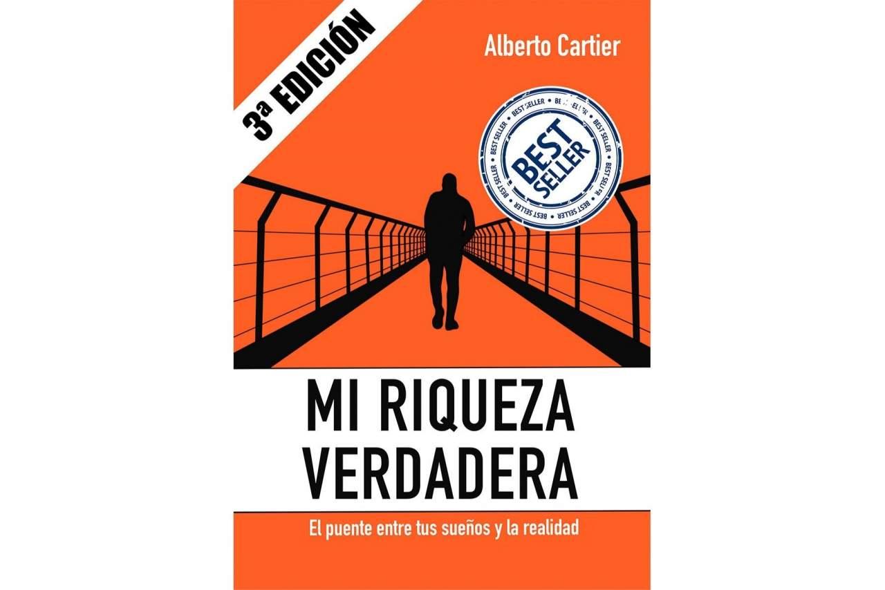El libro del coach Alberto Cartier, Mi Riqueza Verdadera