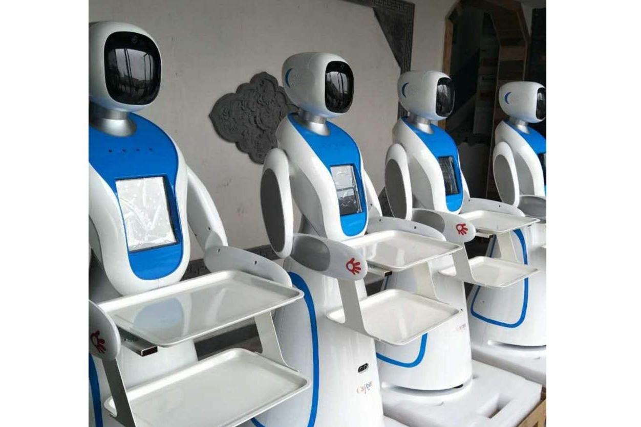 Los robots para restaurantes de Futura Vive trabajan como camareros autónomos