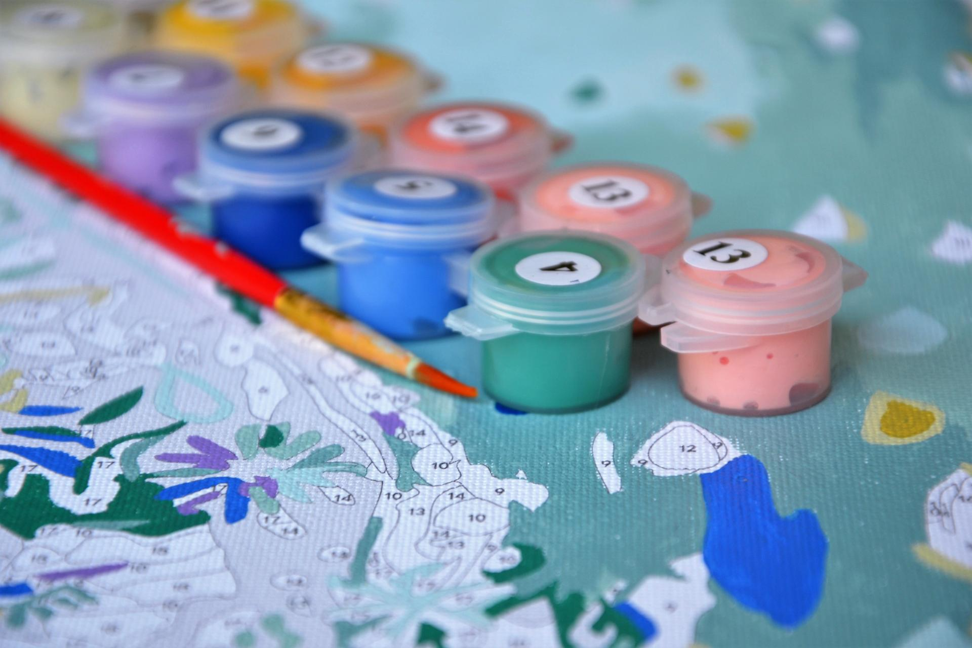 Pintar Números: una de las actividades favoritas a raíz del confinamiento