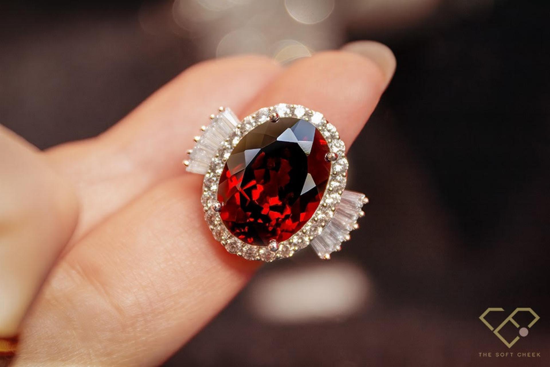 The Soft Cheek: diseño de joyas con gemas auténticas naturales